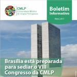 Boletim Informativo | Brasília está preparada para sediar o VIII Congresso da CMLP